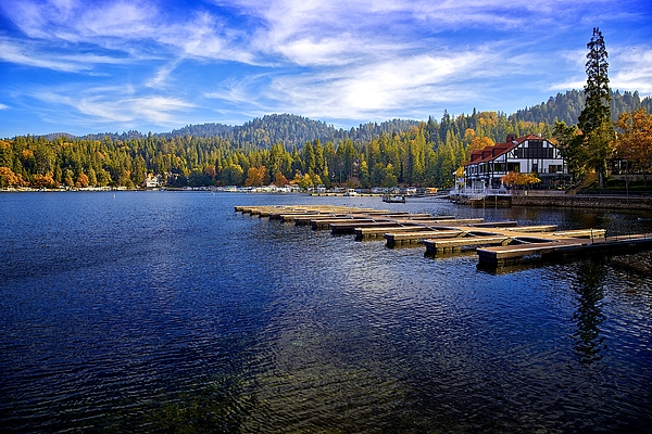Lake Arrowhead California by Joseph Urbaszewski